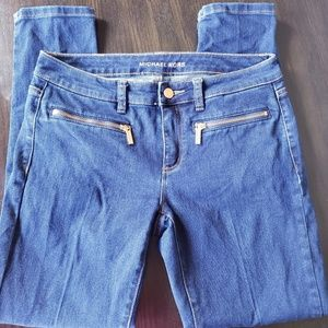 Michael Kors Size 6 Skinny Jeans Dark Wash